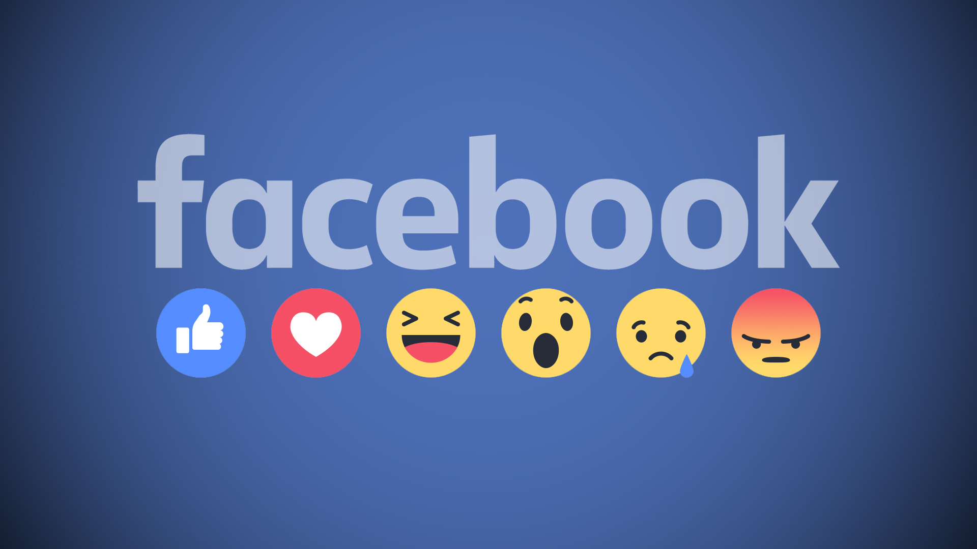 Facebook official reactions