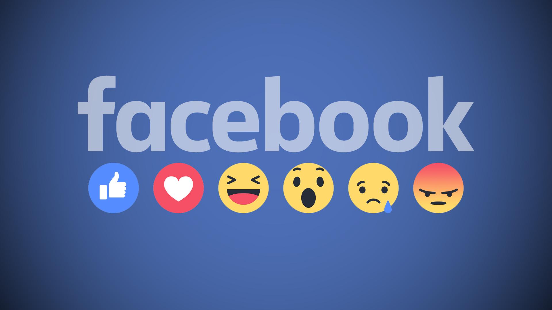 Facebook official reactions